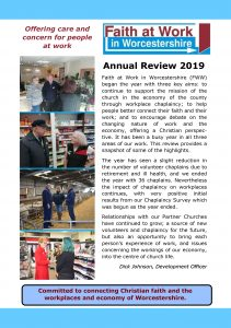 front cover annual review 2019
