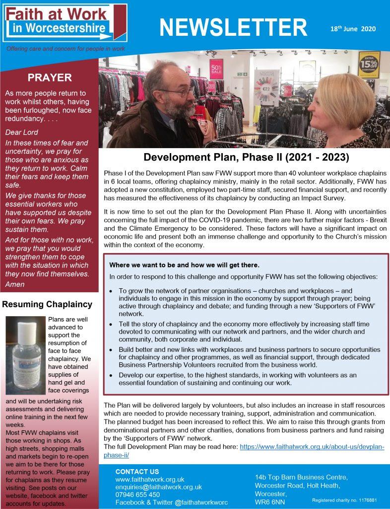 FWW Newsletter 18-06-2020