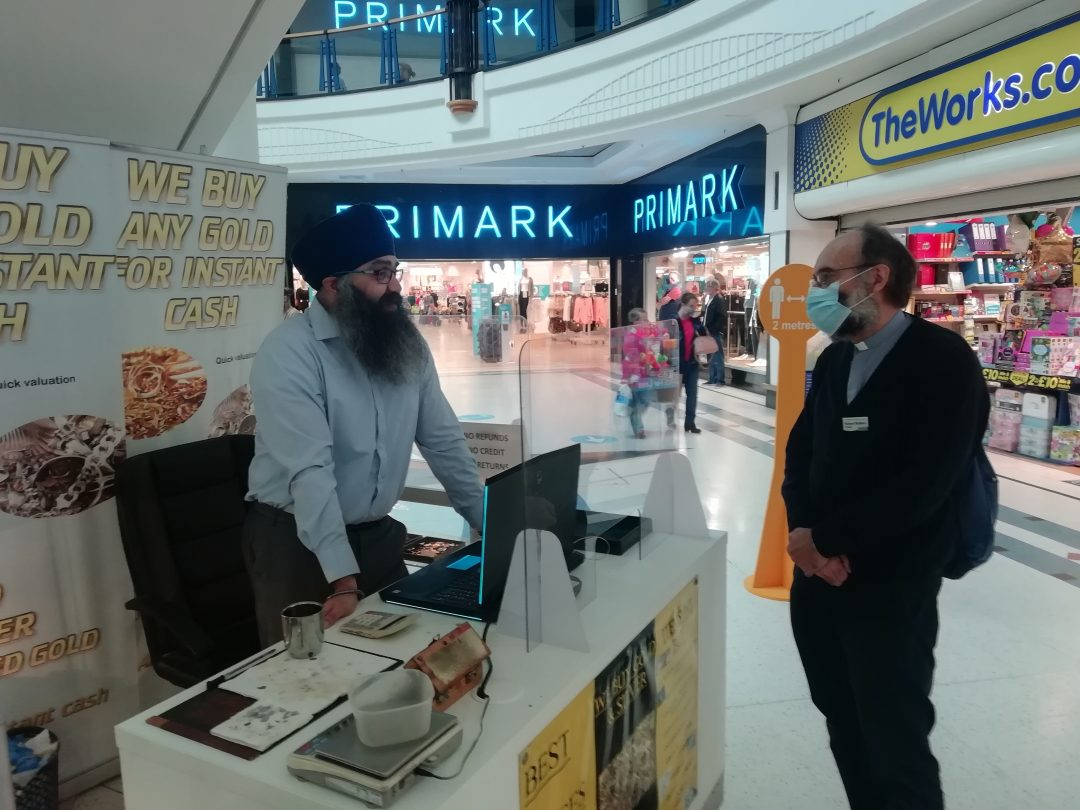 Chaplain in Kingfisher Centre